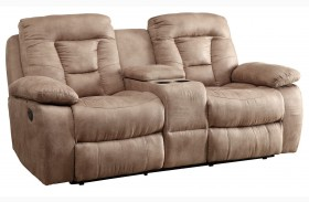 Evensky Bone Power Reclining Loveseat