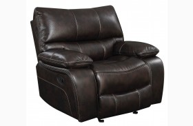 Willemse Dark Brown Glider Recliner