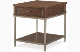 Upstate Conciare 1 Drawer End Table