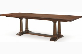 Upstate Conciare Extendable Trestle Dining Table