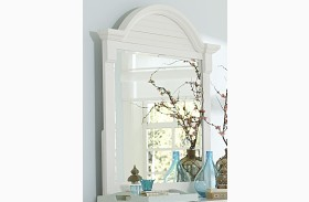 Summer House Oyster White Mirror