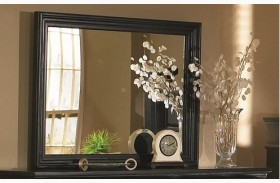 Torreon Antique Black Mirror