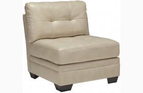 Khalil DuraBlend Taupe Armless Chair