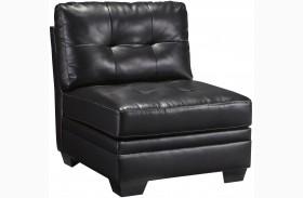 Khalil DuraBlend Blacks Armless Chair