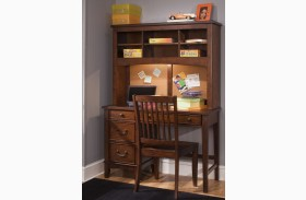 Chelsea Square Student Desk with Hutch