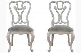 Elan Elm Side Chair Set of 2