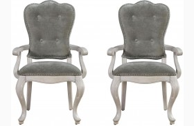 Elan Elm Arm Chair Set of 2