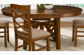 Bistro Oval Pedestal Table