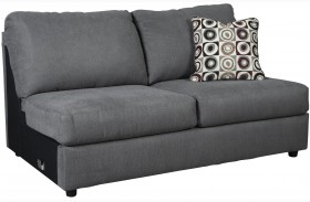 Jayceon Gray Armless Loveseat