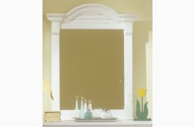Cottage Traditions White Vertical Mirror