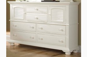 Cottage Traditions White High Dresser