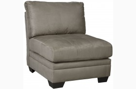 Iago Beige Armless Chair