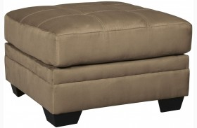 Iago Brown Oversized Accent Ottoman