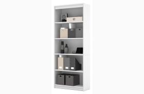 White Standard Bookcase