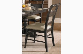 Whitney Slat Back Side Chair Set of 2