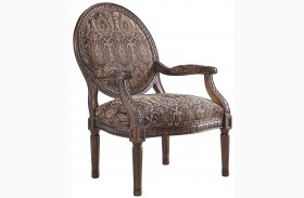 Vanceton Brown Accent Chair