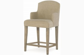 Big Sky by Wendy Bellissimo Weathered Oak Slipcover Arm Chair