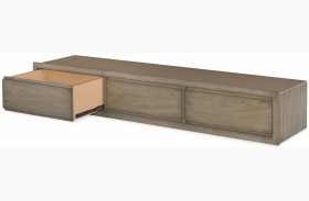 Big Sky by Wendy Bellissimo Weathered Oak Underbed Storage Drawer
