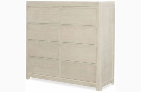 Indio by Wendy Bellissimo White Sand 8 Drawer Double Chest