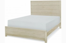 Indio by Wendy Bellissimo White Sand Queen Panel Bed