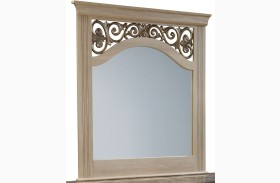 Torina Light Creamy Panel Mirror