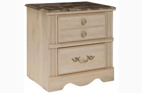 Torina Light Creamy Nightstand