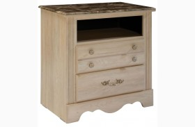 Torina Light Creamy TV Chest