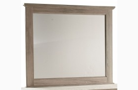 Stonehill Weathered Oak Mirror