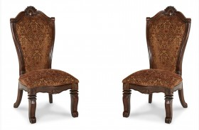 Windsor Court Fabric Side Chair Set of 2