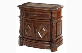 Windsor Court Marble Top Nightstand