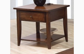 Whitehall Brown End Table