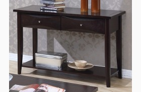Whitehall Black Sofa Table
