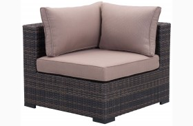 Bocagrande Brown & Beige Corner Chair