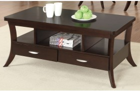 702508 Espresso Coffee Table