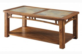 703328 Warm Brown Coffee Table
