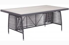 Sandbanks Gray Rectangular Dining Table