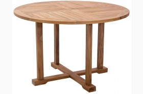 Regatta Natural Round Dining Table