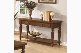 703579 Rustic Brown Sofa Table