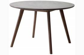 Elite Cement & Natural Dining Table