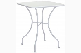 Oz White Square Dining Table