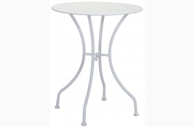 Oz White Round Dining Table