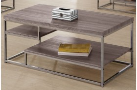 703728 Weathered Grey Coffee Table
