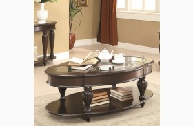 703848 Dark Merlot Coffee Table