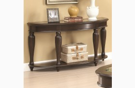 703849 Dark Merlot Sofa Table