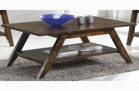 Rustic Pecan Coffee Table