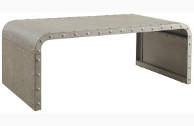 Galvanized Metal Coffee Table