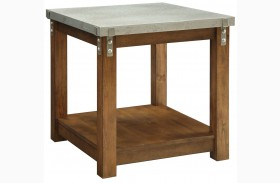 704547 Amber End Table