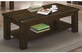 Wiltshire Rustic Pecan Coffee Table