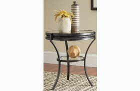 Sandy Black End Table