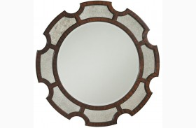 Kensington Place Del Mar Round Mirror